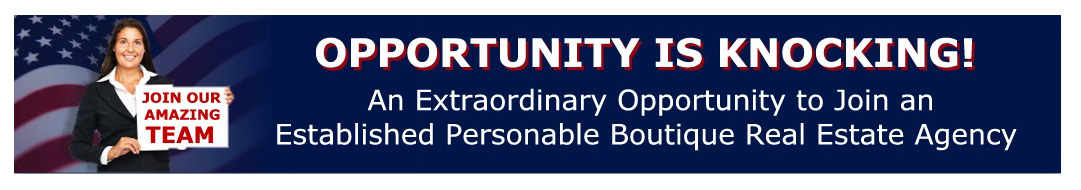 Realtor Career opportunity banner